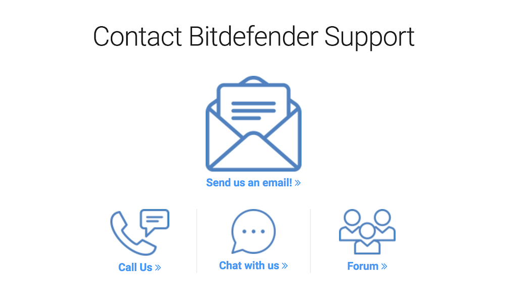bitdefender vpn customer service
