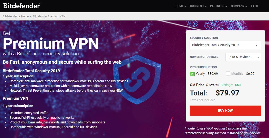 bitdefender vpn review
