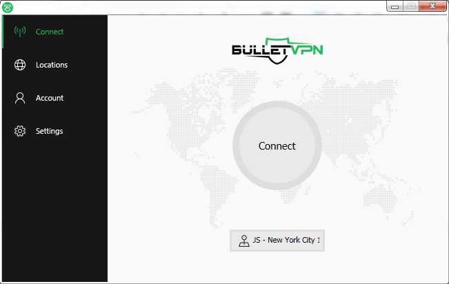 BulletVPN Windows App