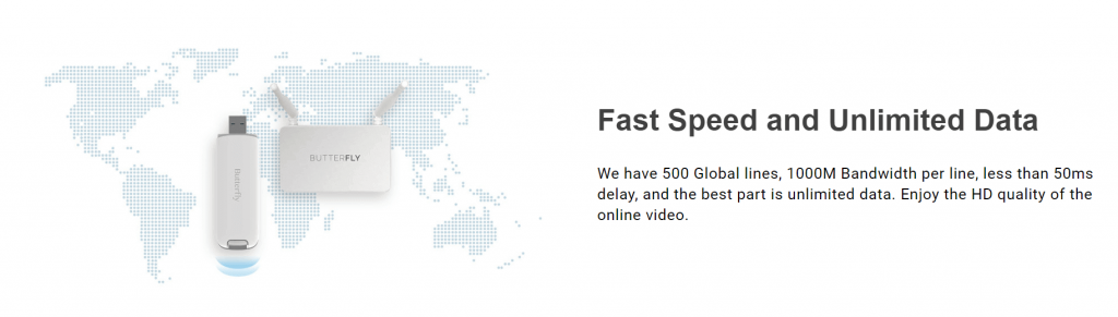 butterflyvpn speed