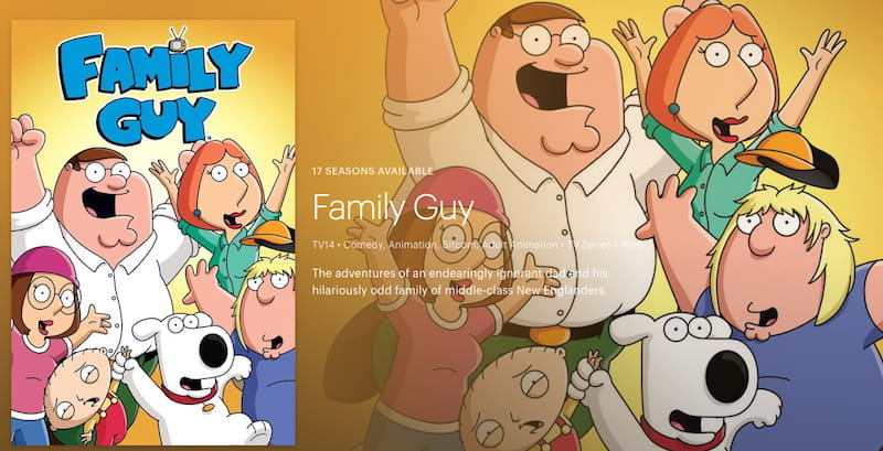 watch family guy on hulu