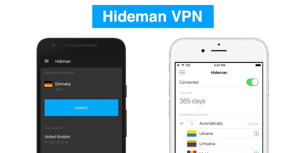 hidemanvpn ios android