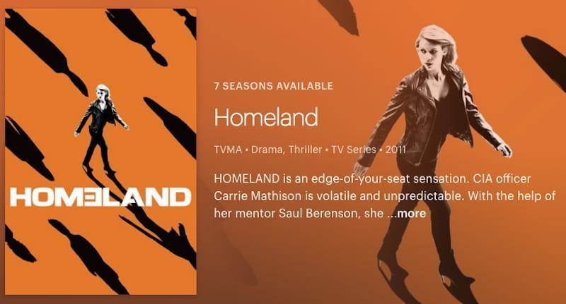 Watch Homeland on Hulu
