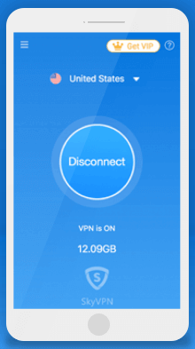skyvpn mobile screenshot