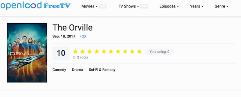 the orville streaming online