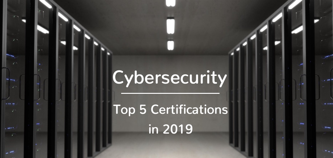 cybersecurity 2019 certifications