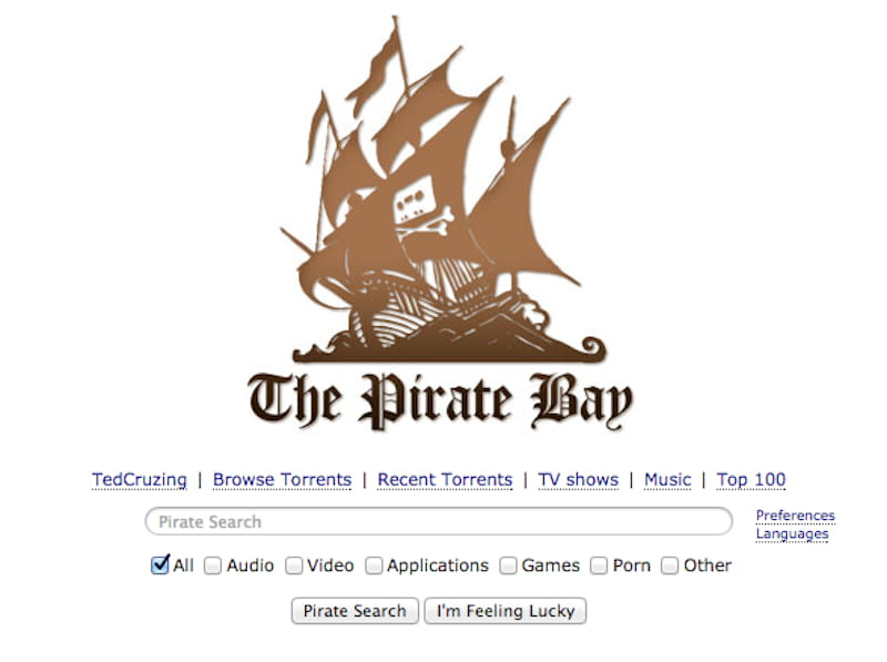 mirrors proxies for pirate bay
