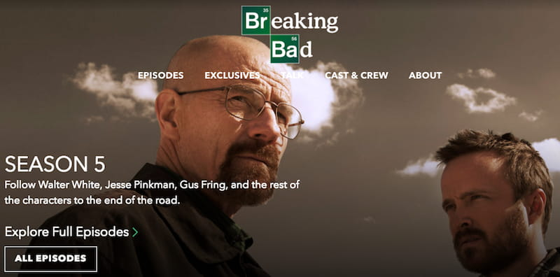 breaking bad amc stream