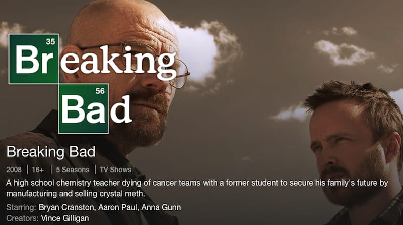 breaking bad netflix poster promo
