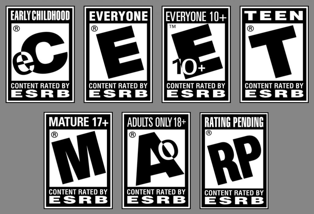 age ratings games esrb