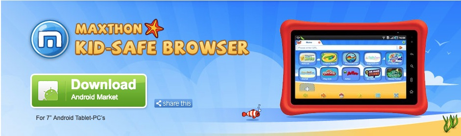maxthon kid-safe browser