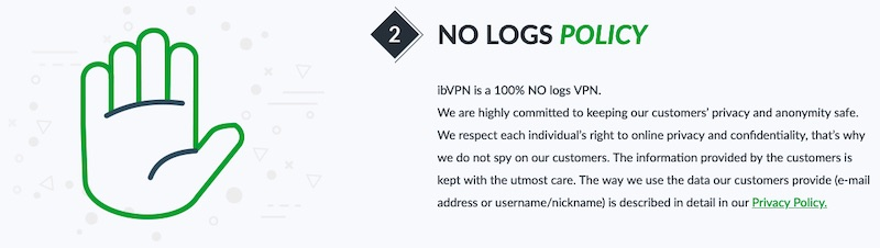ibvpn no log explained