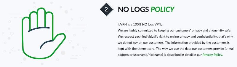 ibvpn no log explained