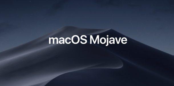 apple macos mojave system preferences