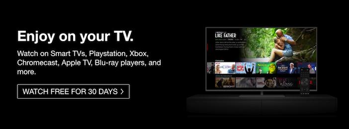 netflix tv smart apple tv
