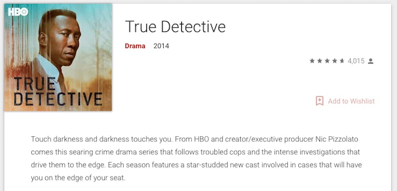 true detective google play android