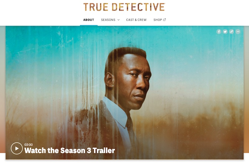True Detective HBO official