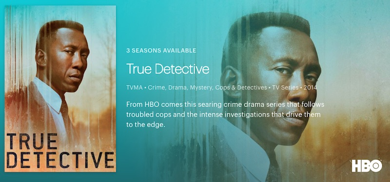 True Detective official hulu
