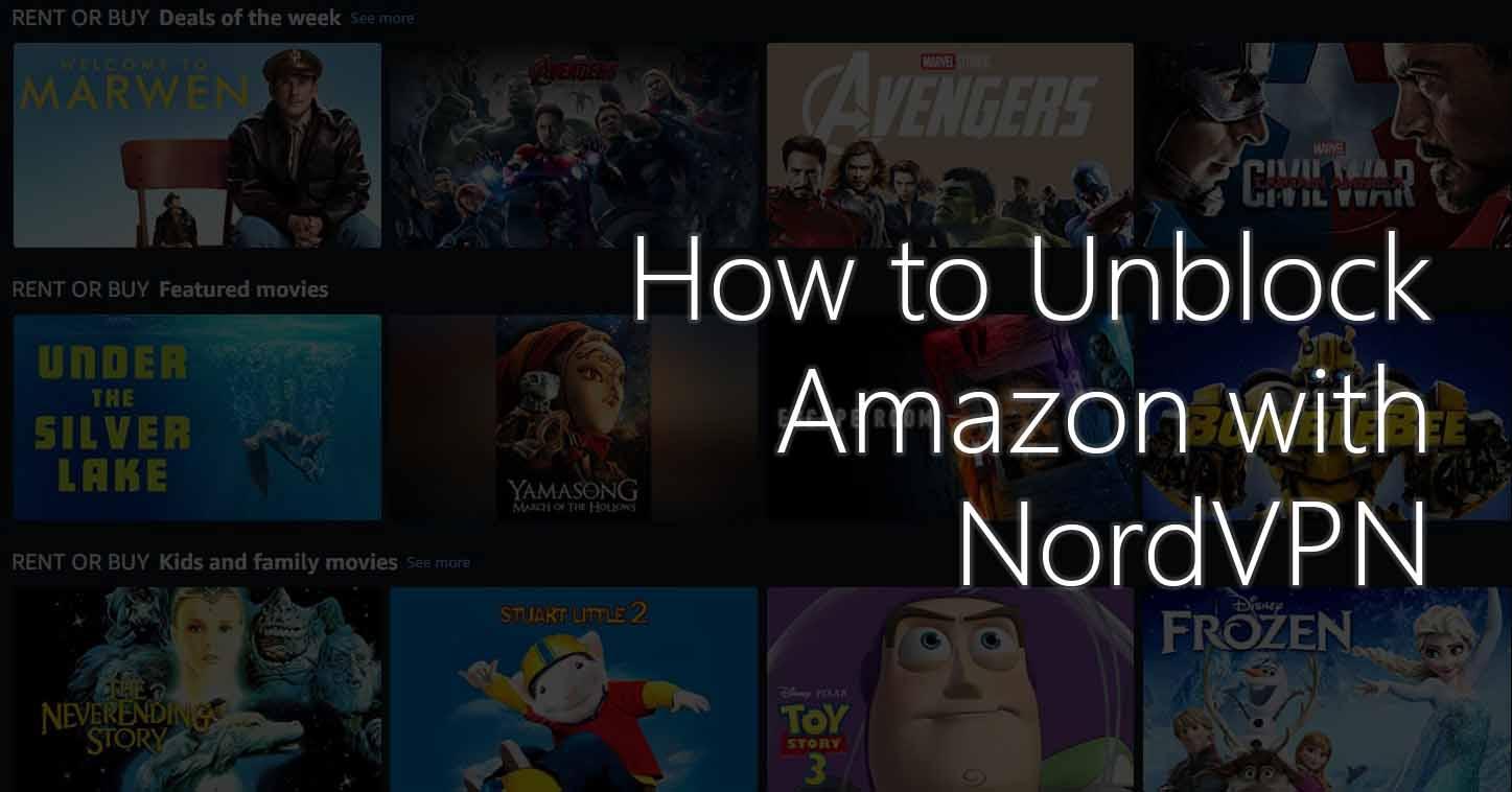unblock amazon with nordvpn