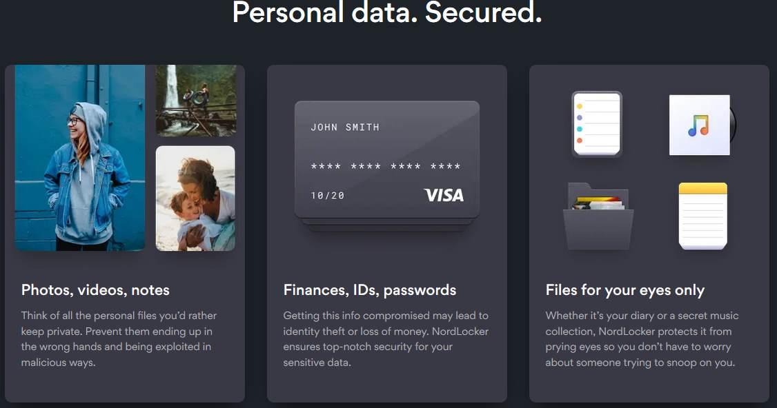 nordlocker protect data