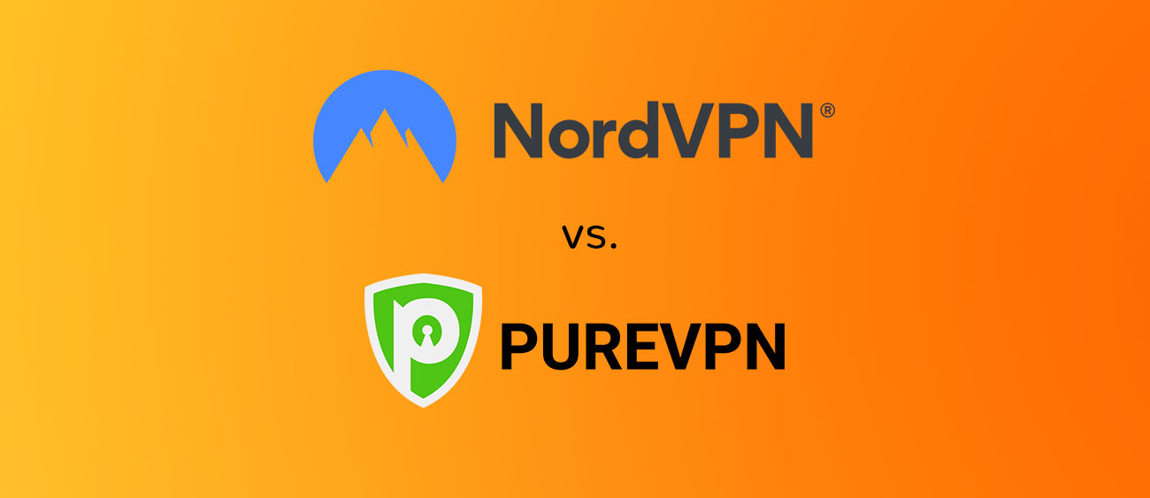 NordVPN vs PureVPN Comparison