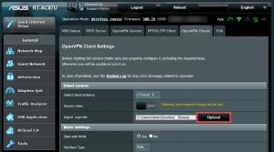 asus router openvpn config upload