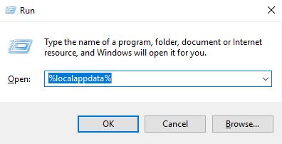 run localappdata