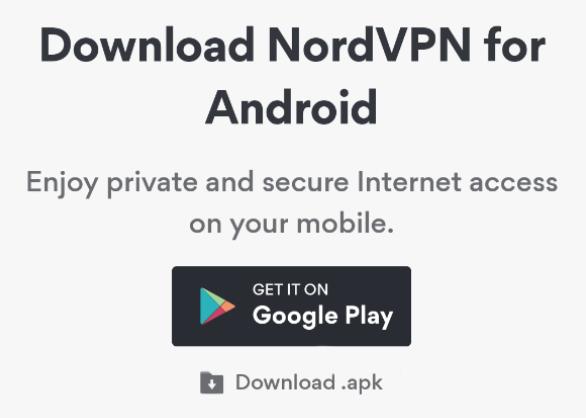 nordvpn android apk