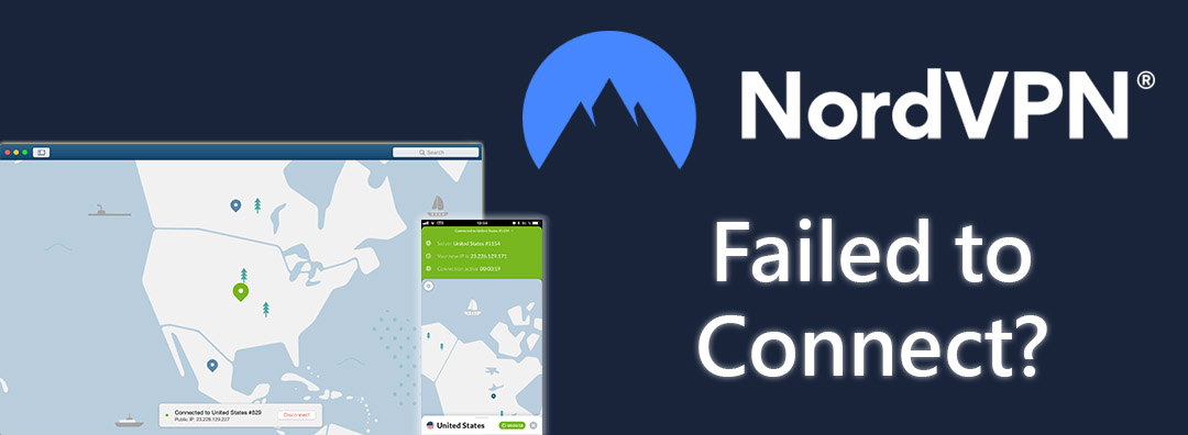 nordvpn failed to connect error