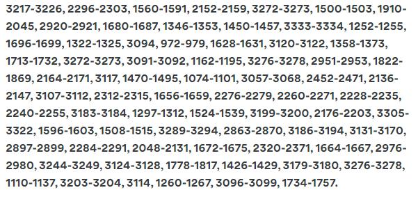 nordvpn hulu servers list