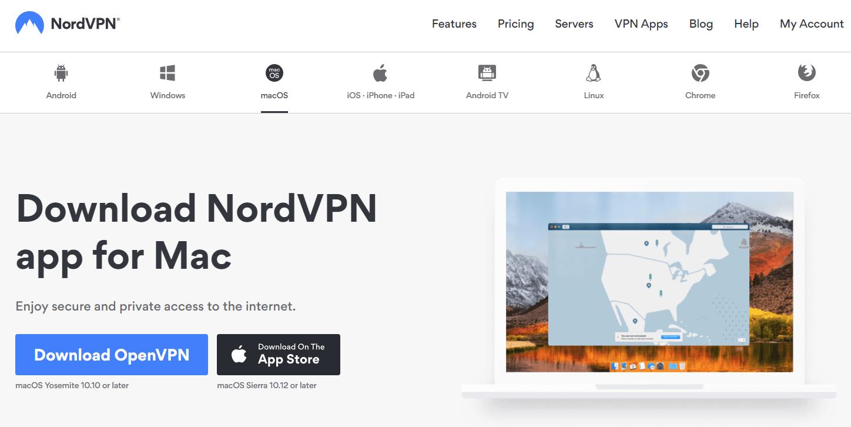 nordvpn macos download