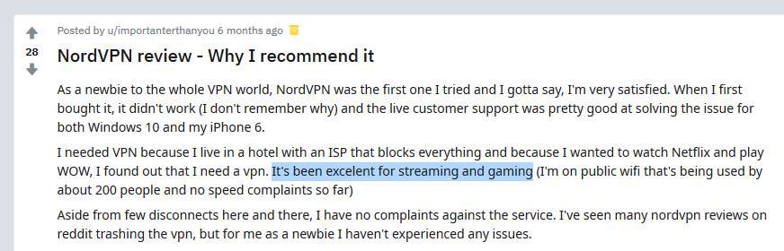 nordvpn newbie user